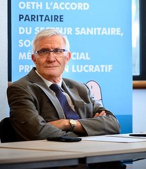 Frédéric Karinthi, nouveau président d'OETH